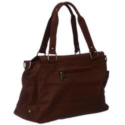 Del Cesca Strappy Oversize Satchel Handbag