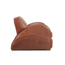 Rocket Leather Bay Chair