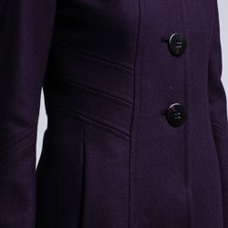 Larry Levine Women's Missy Wool Coat