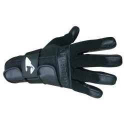 MBS Medium Full-finger Black Hillbilly Wrist Guard Gloves