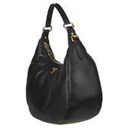 Prada BR4311 Vitello Daino Leather Hobo Bag - 13418924 - Overstock ...