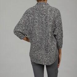 Razzle Dazzle Women's Open Bolero Weave Cardigan Sweater