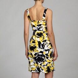 scarlett women's floral print woven dress  13452906