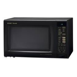 Sharp R930AK Black 1.5-cu-ft 900-watt Convection Microwave