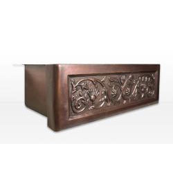 Highpoint Collection 30-inch Copper Farmhouse  Apron Kitchen Sink