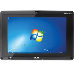 Acer Iconia 1.0GHz Dual Core AMD C-50 2GB/32GB 10.1-inch Tablet  PC w/ USB, HDMI, Windows 7