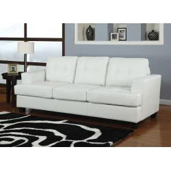 Diamond White Bonded Leather Sleeper