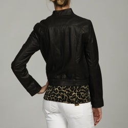 Black Rivet Women's Moto Jacket