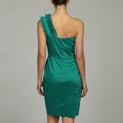 Jessica Simpson Women's Princess Ruffle Pencil Dress FINAL SALE