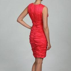 Calvin Klein Women's Sleeveless V-Neck Dress