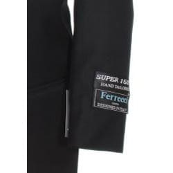 Ferrecci Boy's Black Two-piece Suit