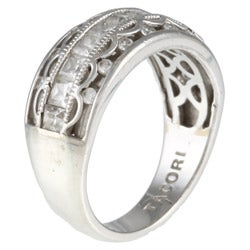 Tacori IV Sterling Silver Cubic Zirconia Band
