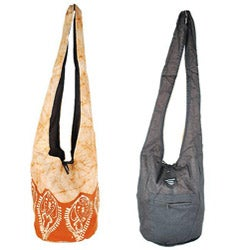 Cotton Batik Shoulder Bag (Nepal)