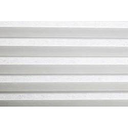 Honeycomb Cell Light-filtering Pure White Cellular Shades (22 x 72)