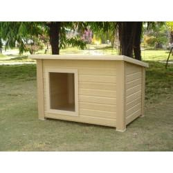 Rustic lodge extra large dog house 13608251 overstock com shopping