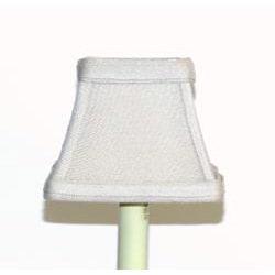 Tan Linen Chandelier Mini Shades (Set of 3)