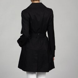 DKNY Women's Belted Rain Trench Coat
