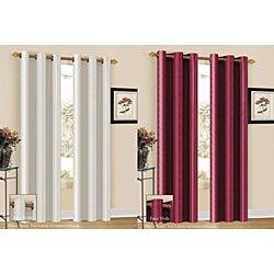 Aubrey Stripe 84-inch Curtain Panel
