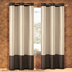 Bridgette Faux Silk 84-inch Curtain Panel