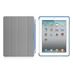Premium Apple iPad 2 TPU Rear-only Case and Screen Protector