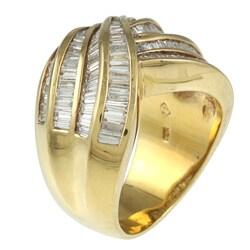 Kabella 18k Yellow Gold 1 7/8ct TDW Diamond Ring (I-J, I2-I3)