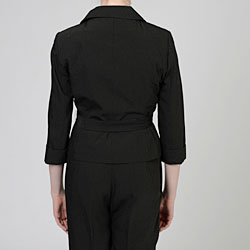 Signature by Larry Levine Women's Pant Suit