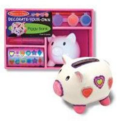 Melissa & Doug 'Decorate Your Own Piggy Bank' Craft Set
