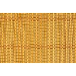Asian Hand-woven Natural Matchstick Bamboo Rug (2' x 3')