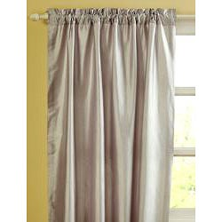 Ellie Dupioni Silk 96-inch Curtain Panel