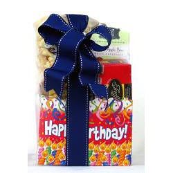 Gift Techs Mountain Birthday, Regular Gourmet Snack Food Gift Box