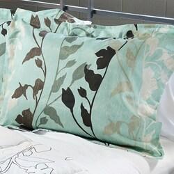 Grace Blue 3-Piece King-size Comforter Set