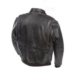 Mossi Men's 'A-2 Bomber' Premium Leather Jacket