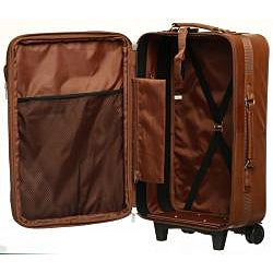 Amerileather Leather 2-piece Carry-on Luggage Set