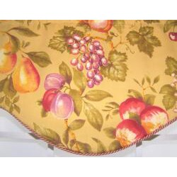 Blandine Cornice Fruit Print Valance