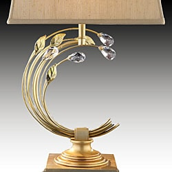 Elan Crystal Branch Table Lamp