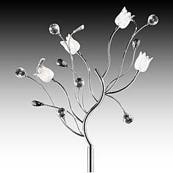 Artisan Lily Crystal Floor Lamp