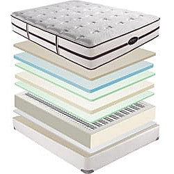 Beautyrest Elite Scott Plush King-size Mattress Set