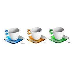 Omada Square Crystal Tea Cups (Set of 4)