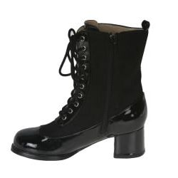 Pleaser Girls' 'GO-GO' Lace-up Boots