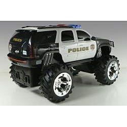 Toys Chevy Tahoe Police Truck Lights and Sounds Remote Control Car