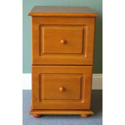 Oak File Cabinet by Passport Accent