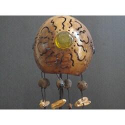 Jellyfish Sunburst Hanging Lamp (Mexico)