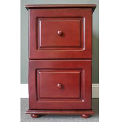 Mahogany File Cabinet by Passport Accent
