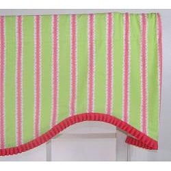 Squiggy Cotton Cornice Valance