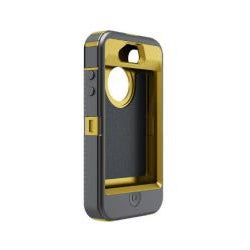 Otterbox Defender Carrying Case (Holster) for iPhone - Yellow, Gray