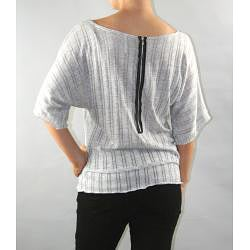 Institute Liberal Kimono Sleeve Sweater Knit Blouse