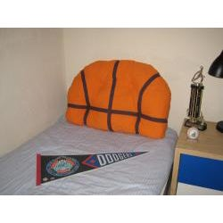 Decorative Basketball Pillow Headboard
