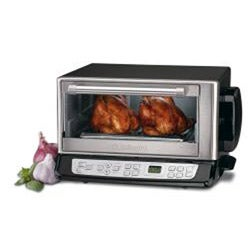Cuisinart CTO-390PC Exact Heat Sensor Convection/ Broiler Toaster Oven (Refurbished)