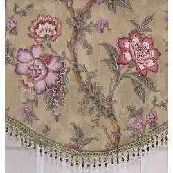 Mandalay Floral Cornice Valance