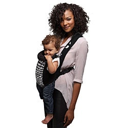 Evenflo Snugli Front Soft Carrier in Riot Black